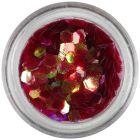Hexagoane, elemente aqua - roşii