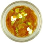 Hexagoane aurii în nuanţa mierii - elemente aqua