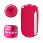 Gel UV Base One Neon - Ruby Pink 17, 5g