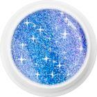 Gel UV colorat holografic – 338 Blue Crystal, 5g