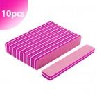 Pilă din spumă, roz 220/280 - 10 buc
