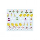 Stickere nail art cu model de Crăciun - 039