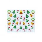 Stickere nail art cu model de Crăciun - 037