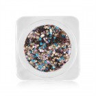 Decorațiuni nail art - cercuri în culori metalizate - mix culori, nr. 7