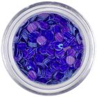 Paiete - albastru-violet cu dungi violet