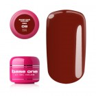 Gel Base One Color RED - Rich Love 09, 5g