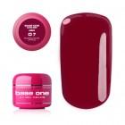 Gel Base One Color RED - Deep Amaranth 07, 5g