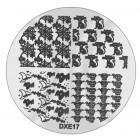 Șablon ștampilare DXE17 - Halloween