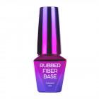 Gel de modelare UV / LED, Rubber Fiber Base – Nude, 10ml