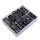 Set de folii decorative pentru unghii - 10buc