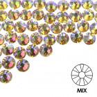 Pietre decorative pentru unghii - MIX - holografice, 50buc