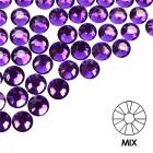 Pietre decorative pentru unghii - MIX - violet, 50buc