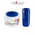 Gel UV colorat 5g – Blue Glitter