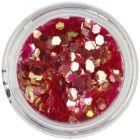 Paiete - elemente aqua, hexagon, roşu