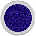 Perle albastre pentru unghii, 0,5mm