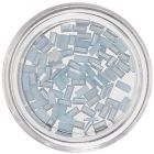 Dreptunghiuri perlate pentru nail art - bleu